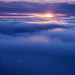 "Flying between the cloud at sunset by IronRodArt - Royce Bair (""Star Shooter"")"