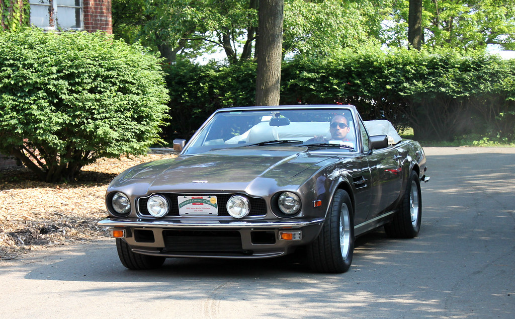 aston martin v8 volante convertible 1989 a photo on flickriver. Black Bedroom Furniture Sets. Home Design Ideas
