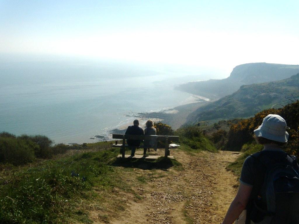 The coast Rye to Hastings