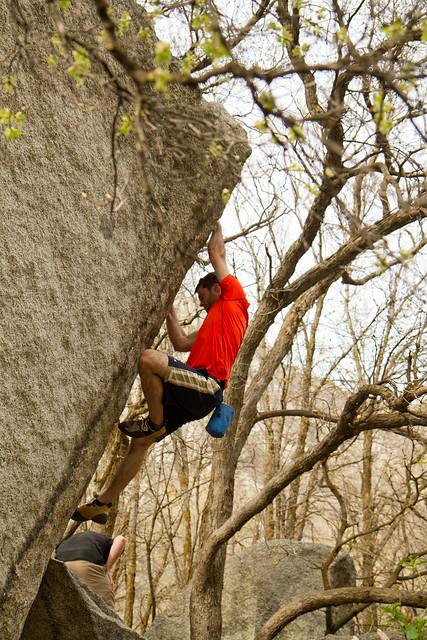 Little Cottonwood Canyon Bouldering