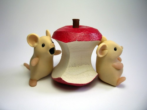 Mice with Apple Core