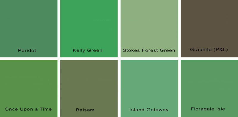 Shades Of Green Paint Get Domain Pictures