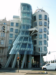 Prague - 'Ginger and Fred' or 'Dancing house'