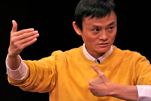Jack Ma at the Asia Society