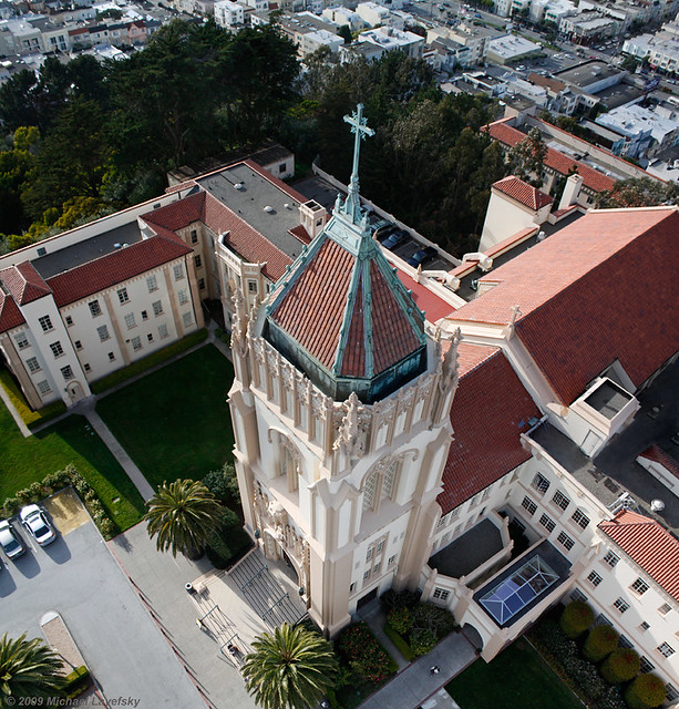 university of san francisco lone mountain campus flickr