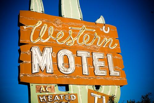 Western Motel, Plate 2 by Thomas Hawk