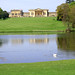 Stowe House from across the Octagon Lake by Jay Tilston