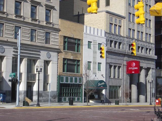 S. Saginaw Street in Downtown Flint, Michigan!
