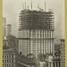 Construction of the Woolworth Building in New York City