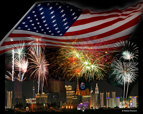 Happy July 4th from Las Vegas