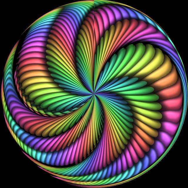 Holodelic Art Spiral