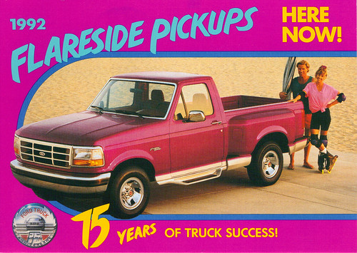 1992 Ford Flaresid F150 75th Anniversary Truck by coconv