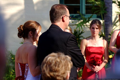 wedding ceremony begins    MG 2395