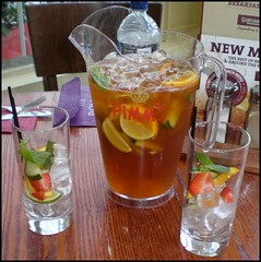 liqueur(0.0), bloody mary(0.0), produce(0.0), spritz(0.0), caipiroska(1.0), distilled beverage(1.0), iced tea(1.0), negroni(1.0), punch(1.0), drink(1.0), cuba libre(1.0), cocktail(1.0), caipirinha(1.0), mai tai(1.0), alcoholic beverage(1.0),