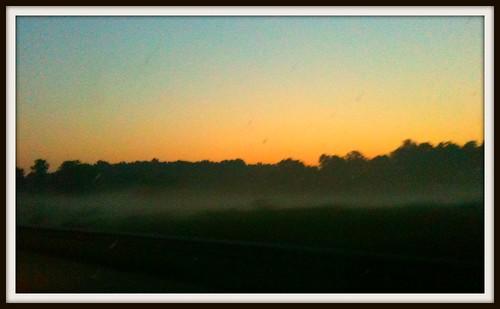 fog dawn tennessee