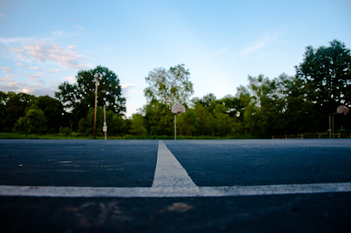 Basketball Court @ Bryan Park