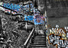 Graffiti Staircase by ohamlin1