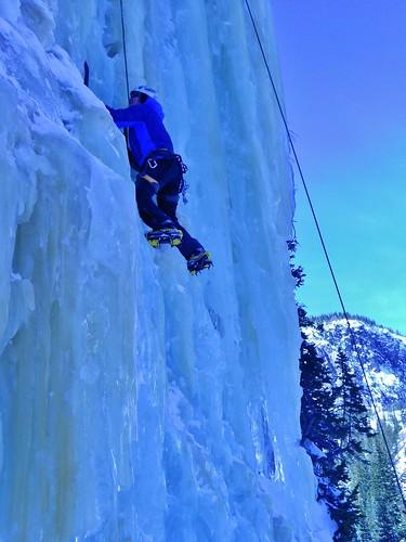 Rick Ice Climbing Crystal Meth