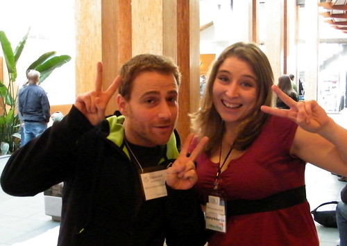 Stewart Butterfield (aka Father of Flickr) and Me