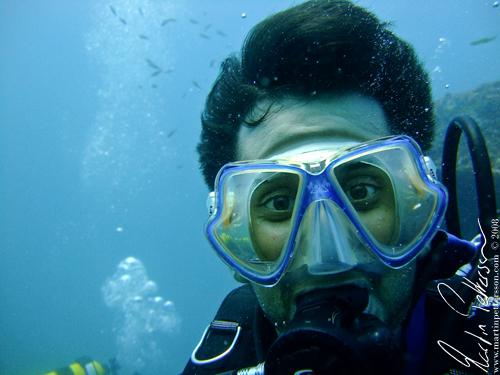 Scuba diving in Hikkaduwa