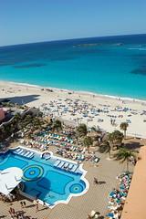 Riu swimming pool, Paradise Island, Bahamas