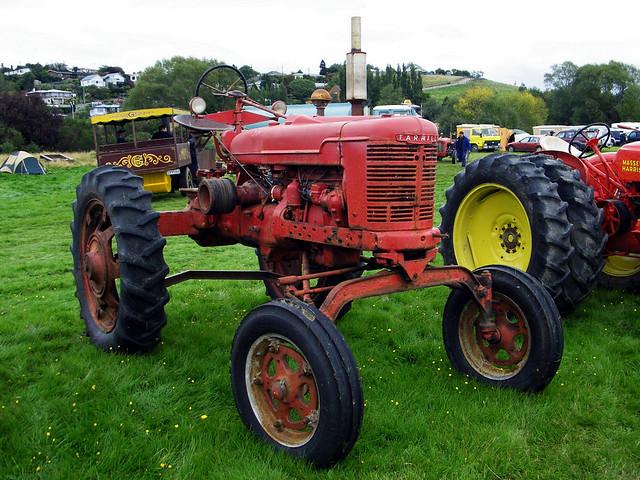 Farmall Tractor Models : Farmall model hv tractor flickr photo sharing