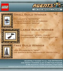 "LEGO Steampunk Competition - ""And the winners are..."" by 2 Much Caffeine"