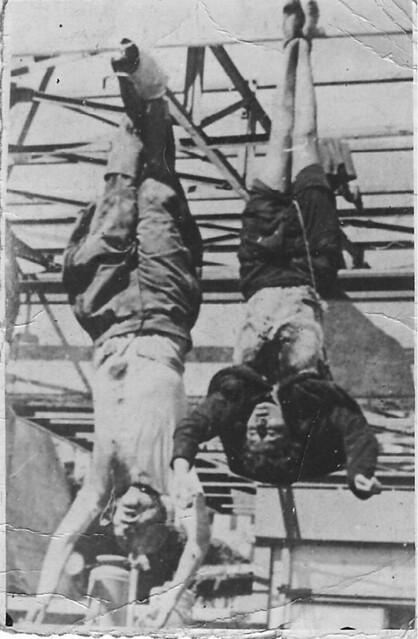 Бенитто Муссолини вместе с Кларой Петаччи