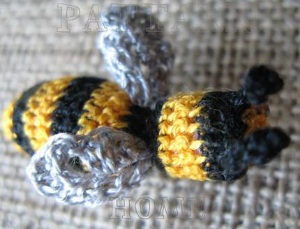 crochet bee pattern on Etsy, a global handmade and vintage