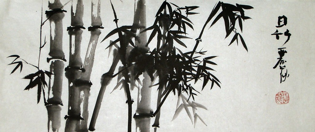 sunlight on bamboo