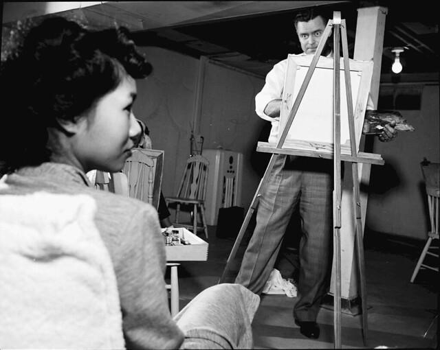 ART CLASS - PAINTING, SCULPTURING