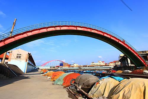 654K竹圍漁港-跨港天橋
