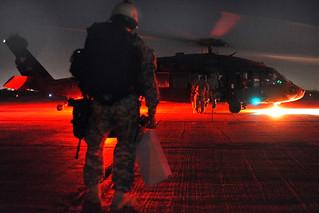 Black Hawk boarding