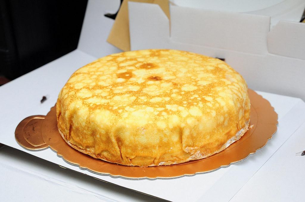 喜師傅果子工坊-芒果奶凍千層蛋糕