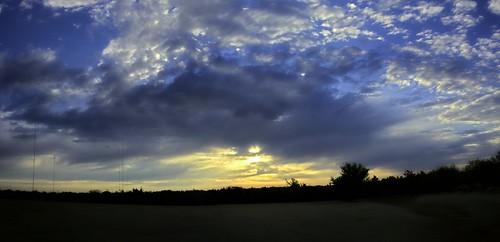 weather sunrise hdr