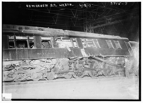 New Haven R.R. wreck  (LOC)