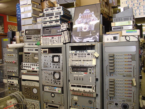 Surplus Electronic Test Equipment : Photos of the black hole mightyohm
