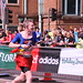 Supergirl Guy runs the London Marathon.