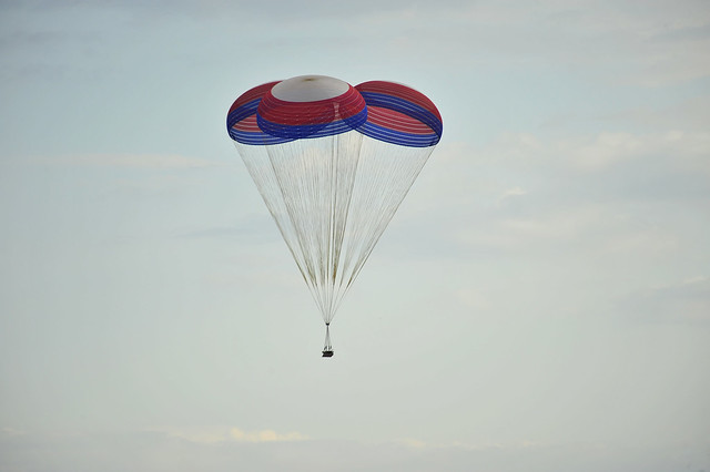 name of nasa parachute - photo #19