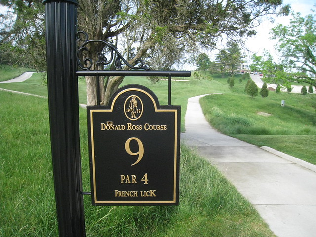 Donald ross course french lick in not