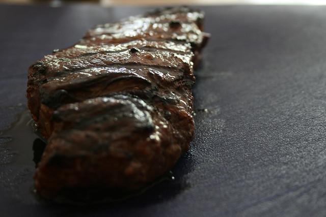 Steak in repose