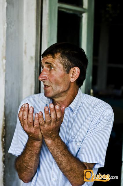 Fotografia mieszkańców Gruzji