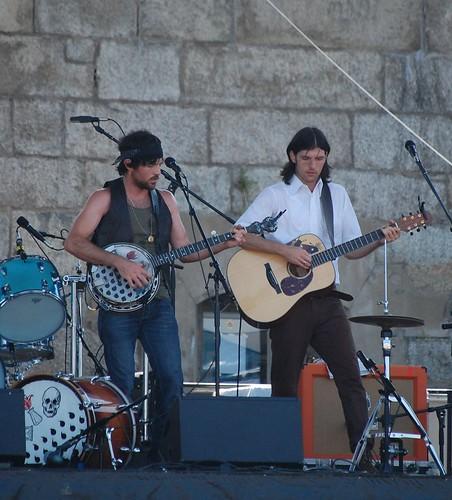 Avett Brothers @ Newport Folk Festival 2009