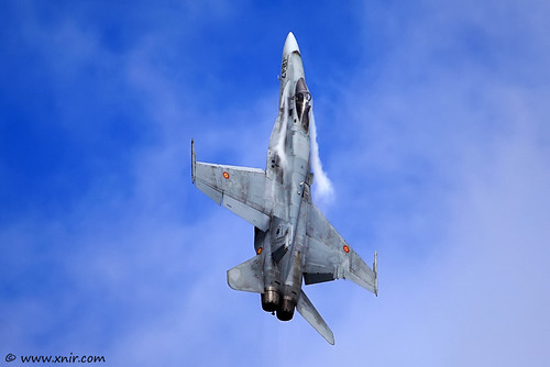 Spanish Air Force F/A-18 Hornet RIAT 2009