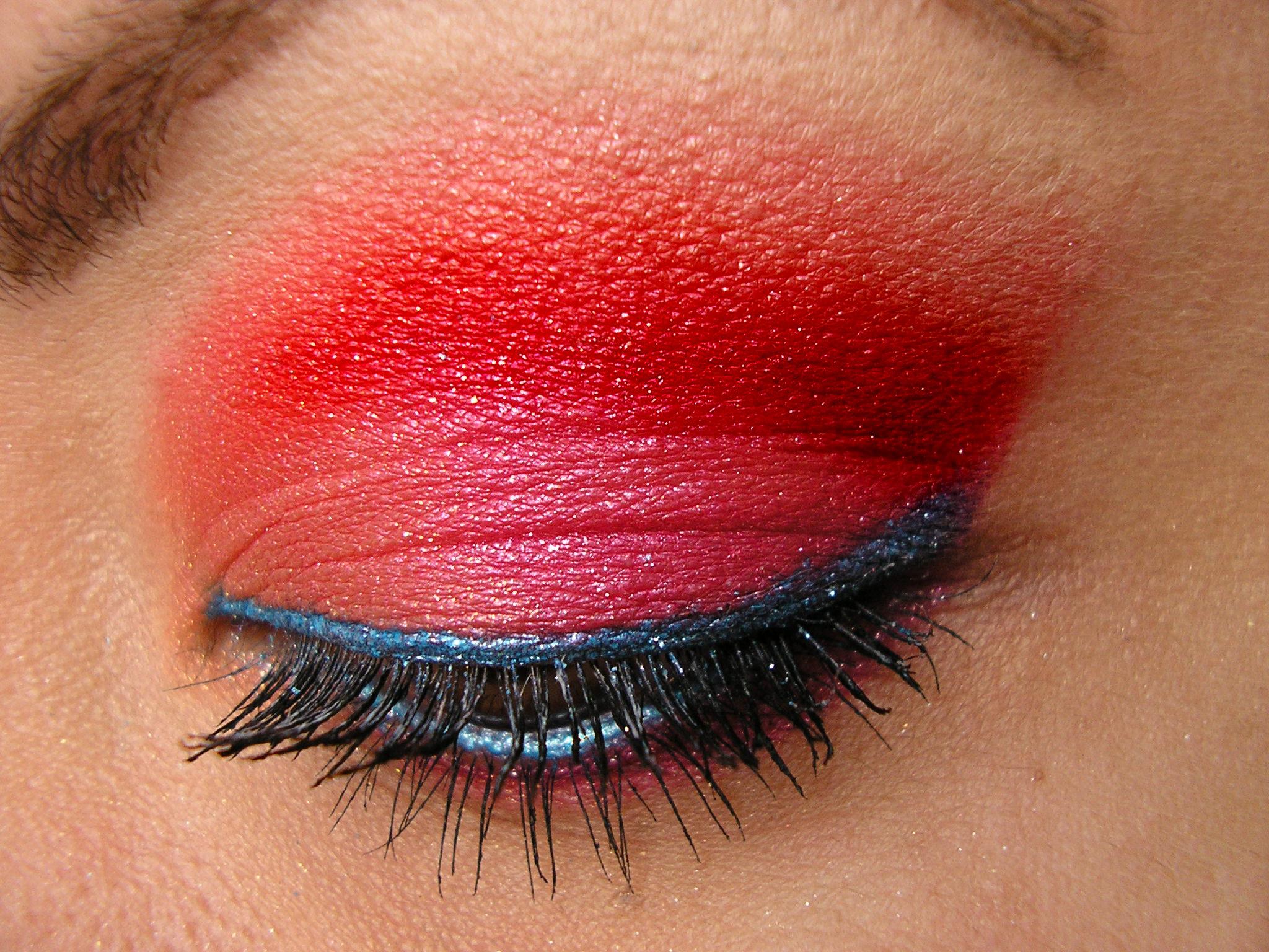 Makeup Ideas fire makeup : Fire Eye Makeup http://frantasticmakeup.com/blog/2009/08/harajuku ...