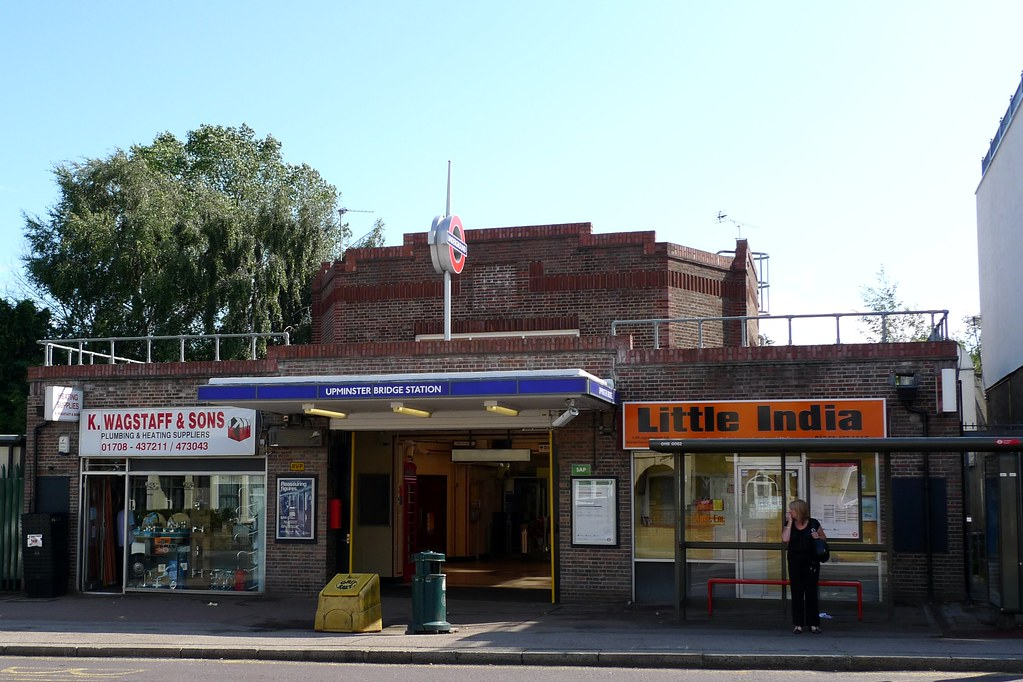 Upminster Bridge Underground Station