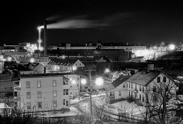 Factory Island at Night