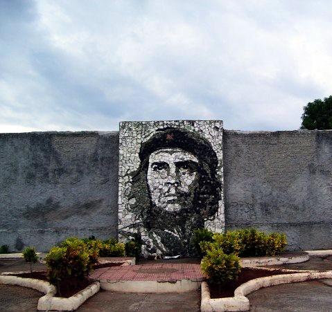 Che Guevara Mural on wall, Cuba