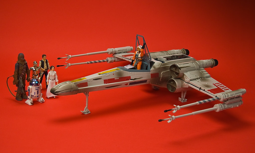 X-Wing on Yavin IV