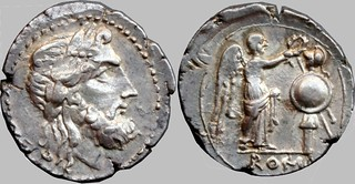90/2 #9835-33 Anonymous Jupiter Victory trophy Victoriatus